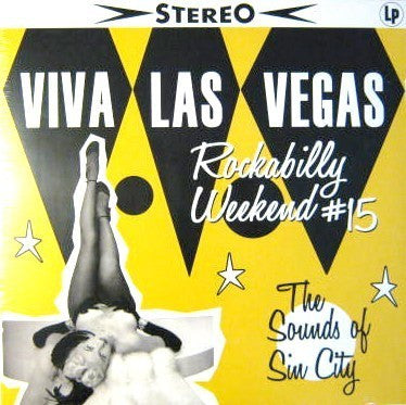 "VLV 15- ""The Sounds of Sin City"" LP"