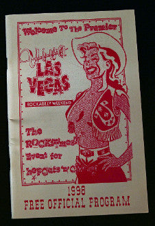 VLV 1 Official Program- 1998