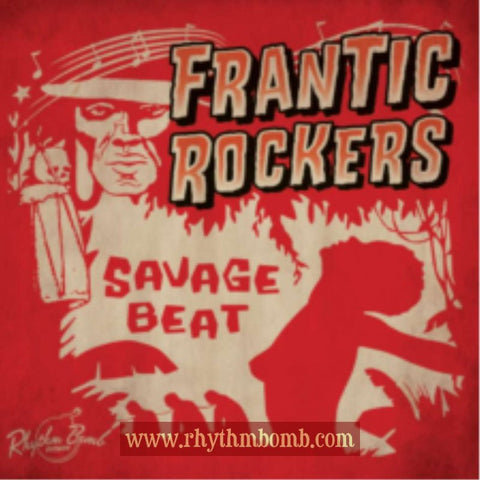 FRANTIC ROCKERS- SAVAGE BEAT CD