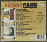 Johnny Cash- Greatest & Now Here's Johnny Cash- set