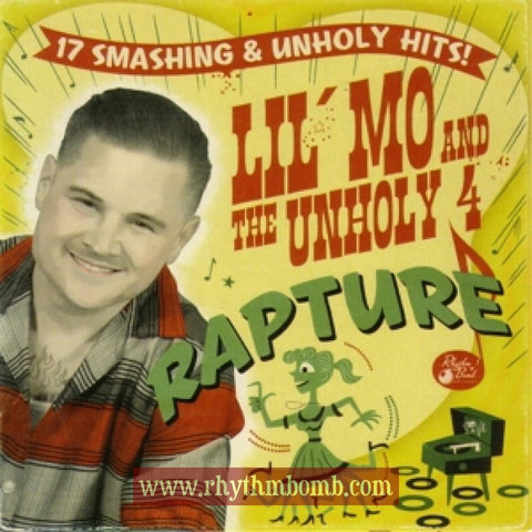 "Lil' Mo and the Unholy 4- ""Rapture"" CD"