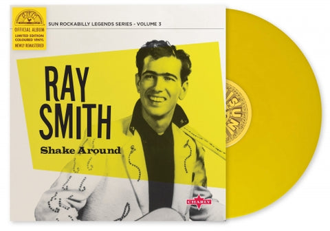 "Ray Smith- Shake Around 10""- Limited Edition Coloured Vinyl"