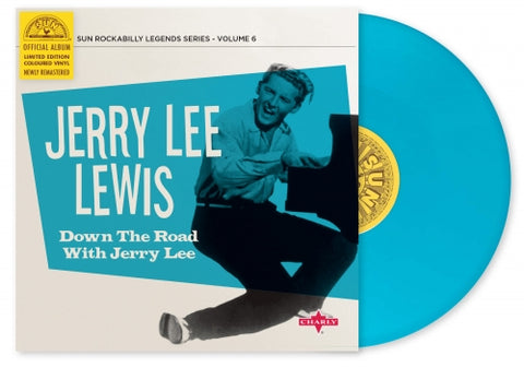 "Jerry Lee Lewis- Down The Road With Jerry Lee 10""- Limited Edition Coloured Vinyl"