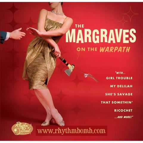 MARGRAVES-  ON THE WARPATH- CD