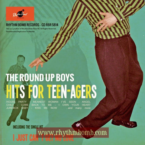 The Round Up Boy- Hits for Teen-Agers CD