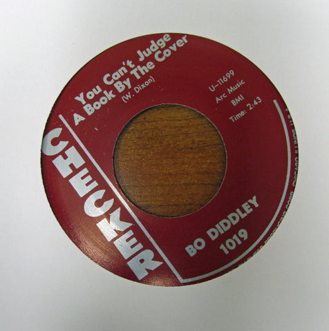 "Bo Diddley ""YOU CAN'T JUDGE A BOOK BY IT'S COVER"" -  ""I CAN TELL""- 45 RPM RECORD RE-ISSUE"