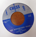 "Chuck Berry ""THE DOWNBOUND TRAIN"" / ""YOU CAN'T CATCH ME""- 45 RPM RECORD RE-ISSUE"