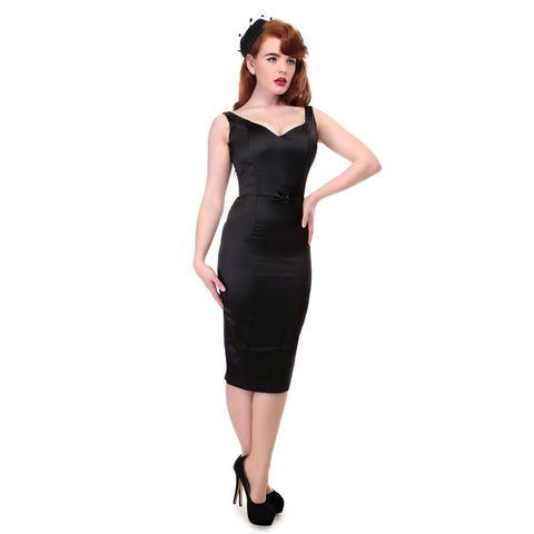 Collectif Vintage Primrose Plain Pencil Dress