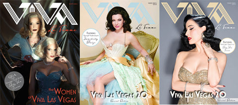 Viva La Femme Magazine- Vol. 1 and 2
