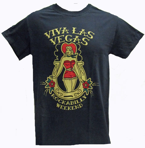 VLV 18 MEN'S TEE- COWGIRL