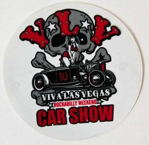 VLV 10 Car Show Decal