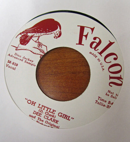 "Dee Clark ""OH LITTLE GIRL"" / ""24 BOYFRIENDS""- 45 RPM RECORD RE-ISSUE"