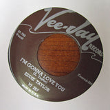"Eddie Taylor ""I'M GONNA LOVE YOU"" / ""LOOKING FOR TROUBLE""- 45 RPM RECORD RE-ISSUE"