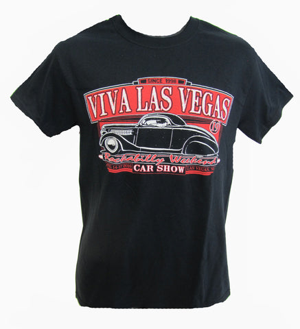 VLV 19 Men's Car Show T-Shirt- Front Design