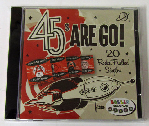 """45s Are Go!"" CD"