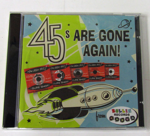 """45s Are Gone Again"" CD"