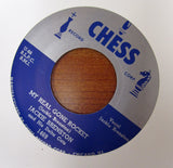 "Jackie Brenston ""MY REAL GONE ROCKET"" / ""TUCKERED OUT""- 45 RPM RECORD RE-ISSUE"