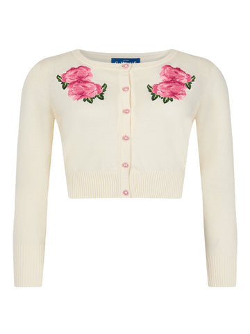 Collectif Jessie Floral Cardigan