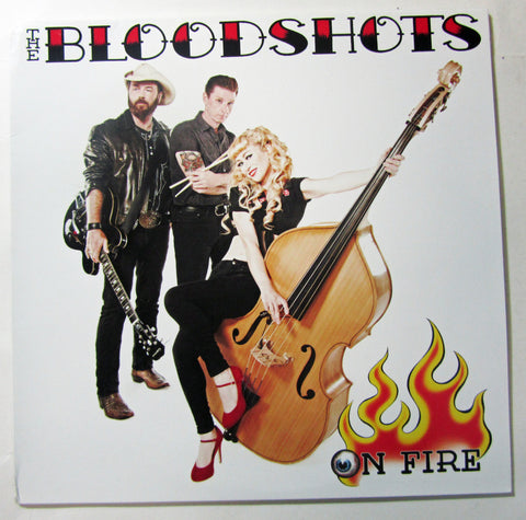 "Little Lesley & The Bloodshots- ""On Fire"" CD"