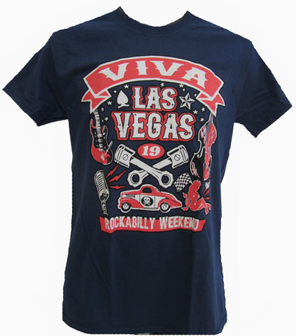 VLV 19 Men's Piston's T-shirt - Navy