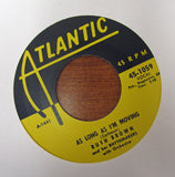 "Ruth Brown ""TEARDROPS FROM MY EYES"" / ""AS LONG AS I'M MOVING""- 45 RPM RECORD RE-ISSUE"