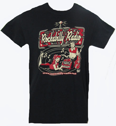Rockabilly Radio T-Shirt- Men's