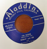 "Shirley & Lee ""LET THE GOOD TIMES ROLL"" / ""I'M GONE""- 45 RPM RECORD RE-ISSUE"