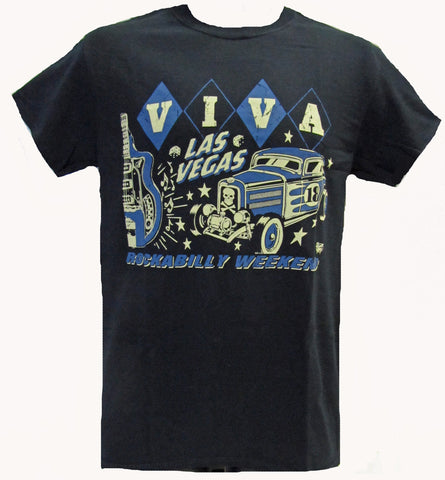 VLV 18 MEN'S TEE- Vince's Guitar- LIMITED SIZES LEFT