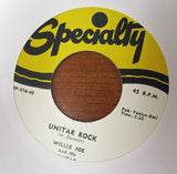 "Bob Lenarde ""CHEROKEE DANCE"" / ""UNITAR ROCK""- 45 RPM RECORD RE-ISSUE"