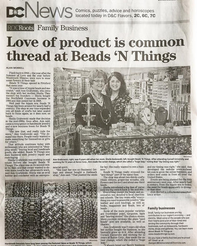 Beads N Things in the News!