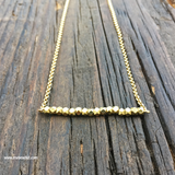 Sold Out! Simple Beauty Bead & Chain Minimalist Necklace Kit - Brass