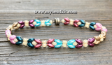 New! 3-Kit Multipack: Dragonfly Wings Beaded Bracelet Kits