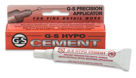 G-S Hypo Jewelers Cement