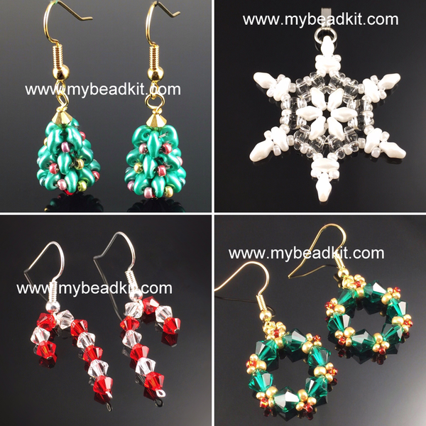 Exclusive Holiday Jewelry 4-Pack Kit Combo!