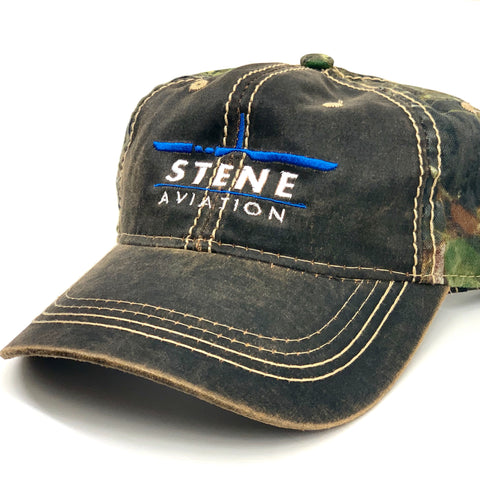 Stene Aviation Mossy Oak Hat