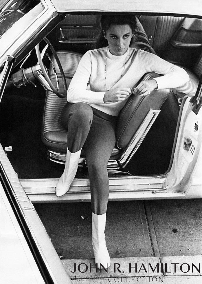 Ann-Margret in Car, 1966