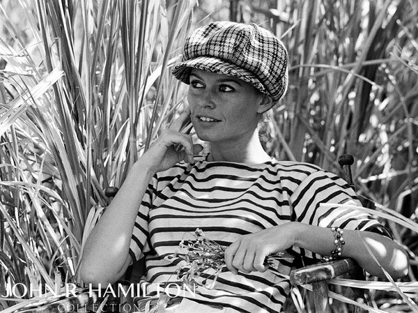 Brigitte Bardot in sugar cane fields, 1964
