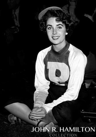 Elizabeth Taylor as a Bat Girl, 1949