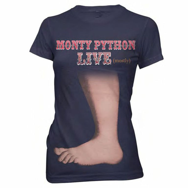 Big Foot Ladies Navy T-Shirt