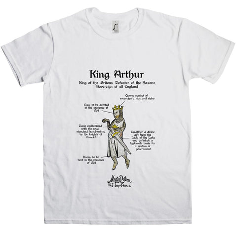 Holy Grail King Arthur T-Shirt