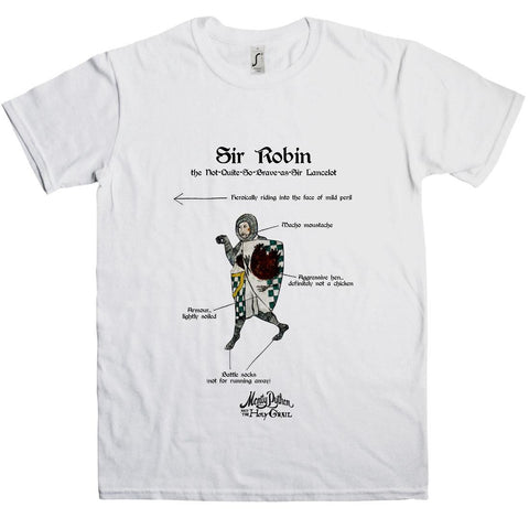 Holy Grail Sir Robin T-Shirt