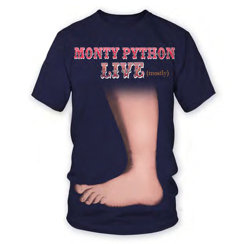 big foot navy monty python t-shirt