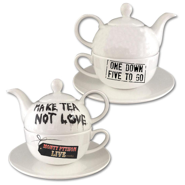 Make Tea Not Love Teapot & Cup