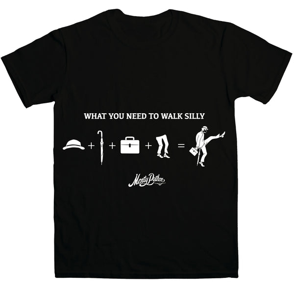 Monty Python What You Need to Walk Silly T-Shirt
