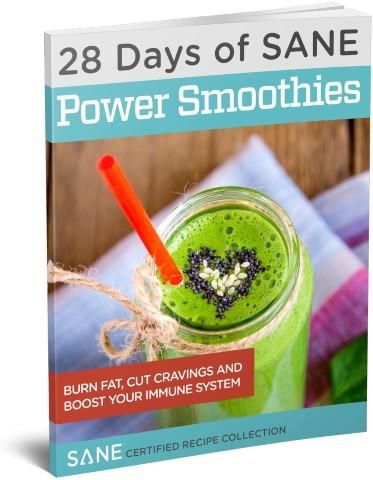 28 Days of SANE Certified Protein Power Green Smoothies eBook