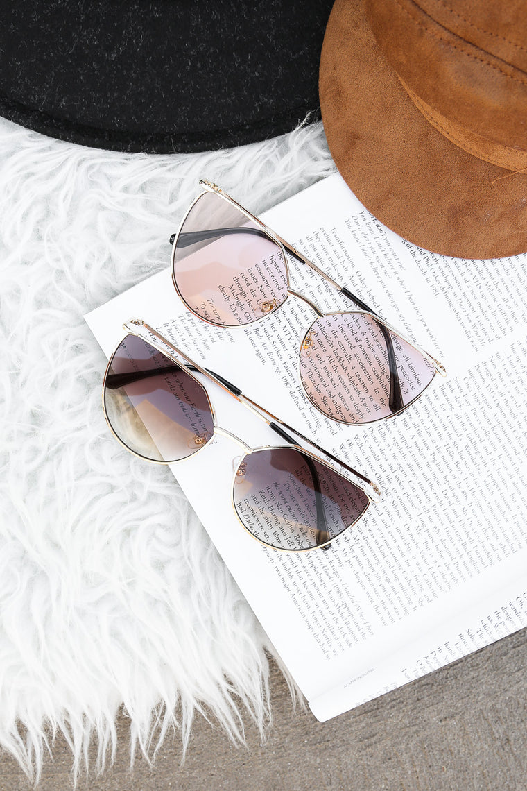 SALE - vine shades in gold