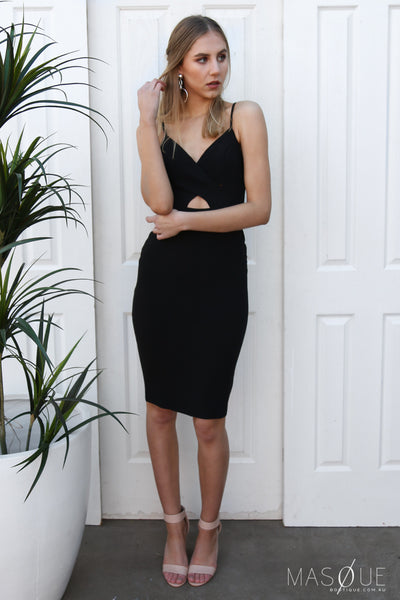 orlando dress in black