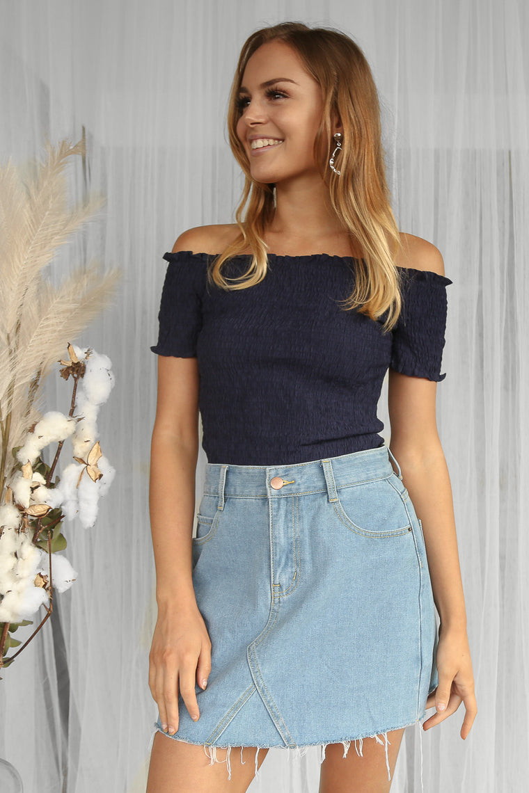 SALE- yearly crop in navy
