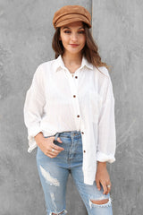 bailey shirt in white