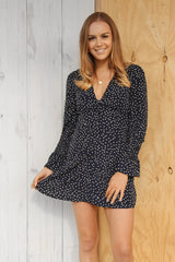 cali dress in navy